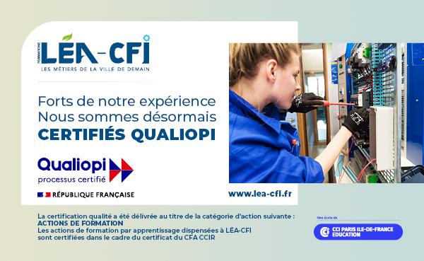Certification Qualiopi - Actu